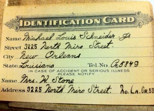 daddy id card