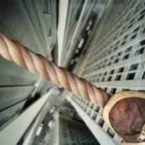 tightrope closeup