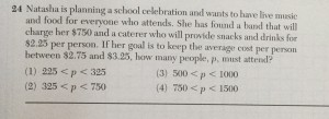 regents algebra question 24