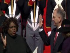 JBE sworn in