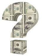 dollar sign question mark